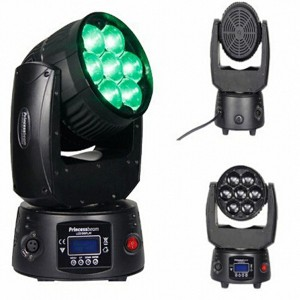 7X15W LED RGBW DMX Moving Head Stage Light
