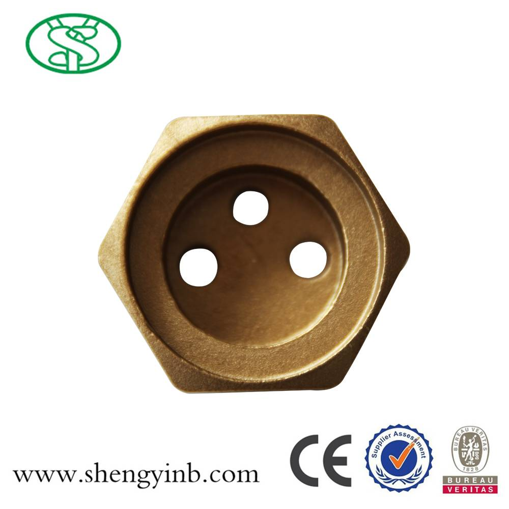 Brass Flange for Heating Element
