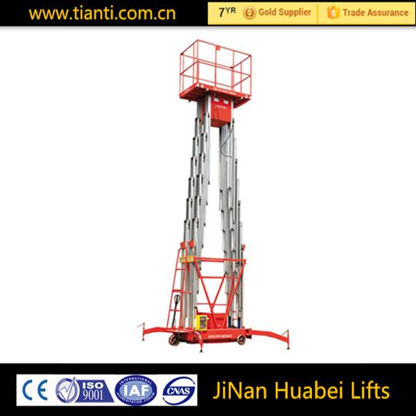 Portable stage vertical lift tables