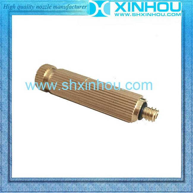 Outdoor cooing brass mist garden spray nozzle