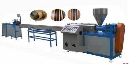 Fully automatic furniture edge banding extrusion production line