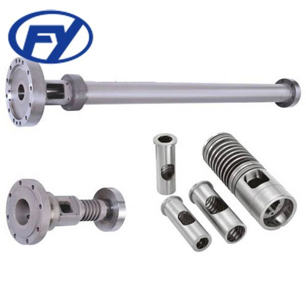 PS Plate Sheet Screw Barrel for Plastic Extruder Machine