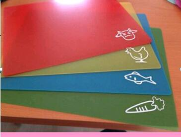 Food Grade Plastic Chopping Board Flexible Cutting Mat