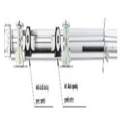 Oil damper II (Semi-auto sliding door closer)