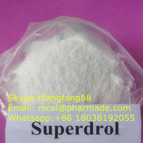 Methasteron Superdrol Steroid Powder 17a-Methyl-Drostanolone