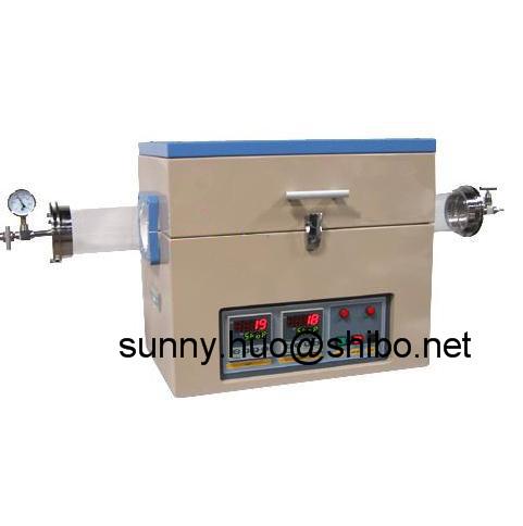 1200C Single Zone Vacuum Quartz Tube Furnace