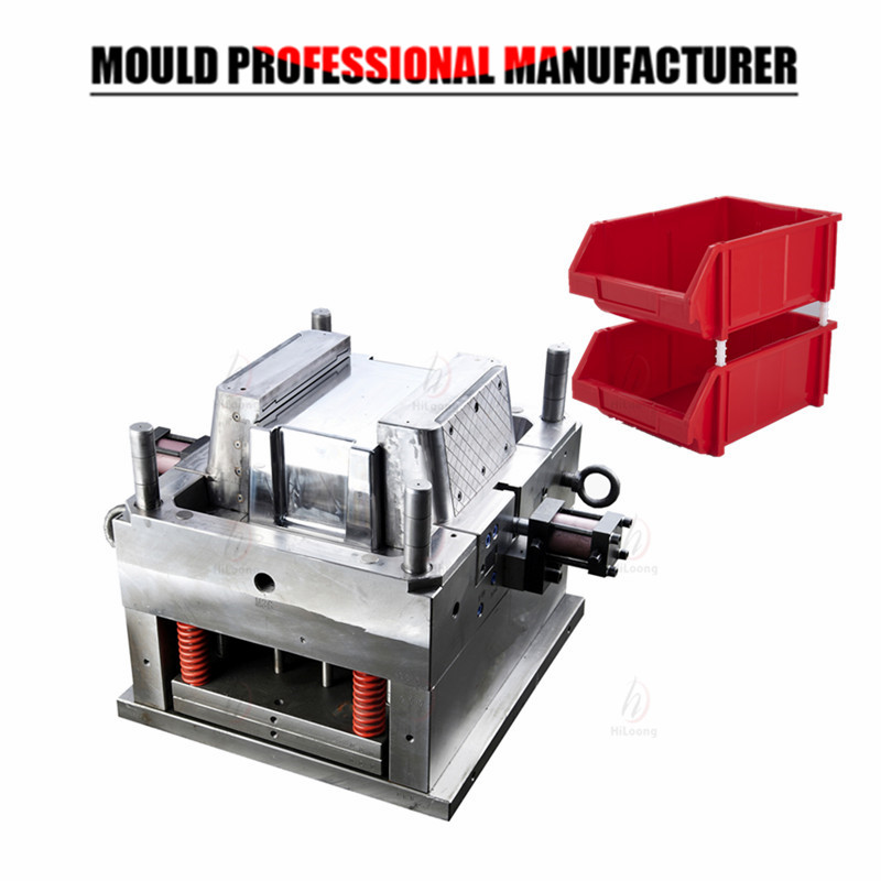 plastic container mould rack mould