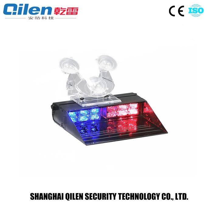 12 volt red/blue led visor dash warning lights LE-200