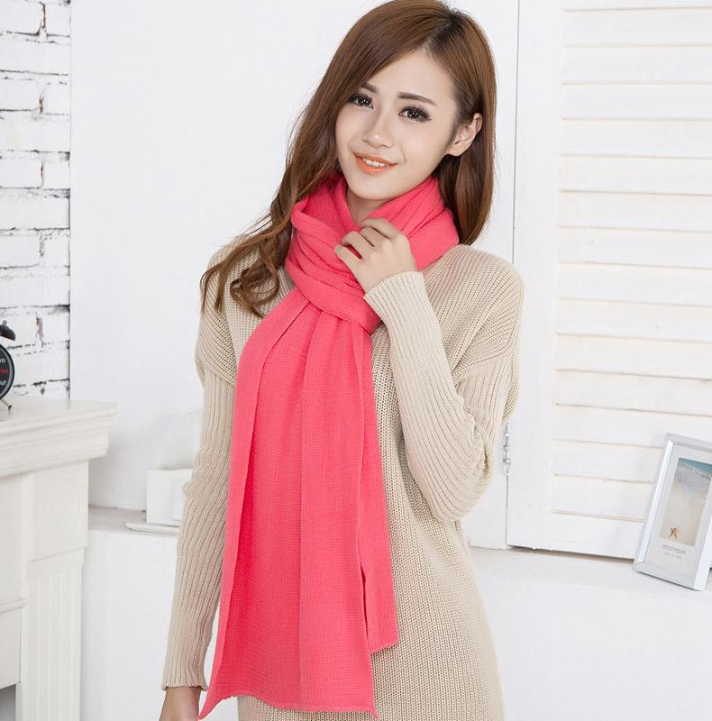 Soft Warm Plain Acrylic Pashmina Scarf Shawl Wraps Supplier