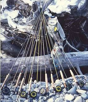 Fly Fishing Rods (RODS For UK Lake Series)
