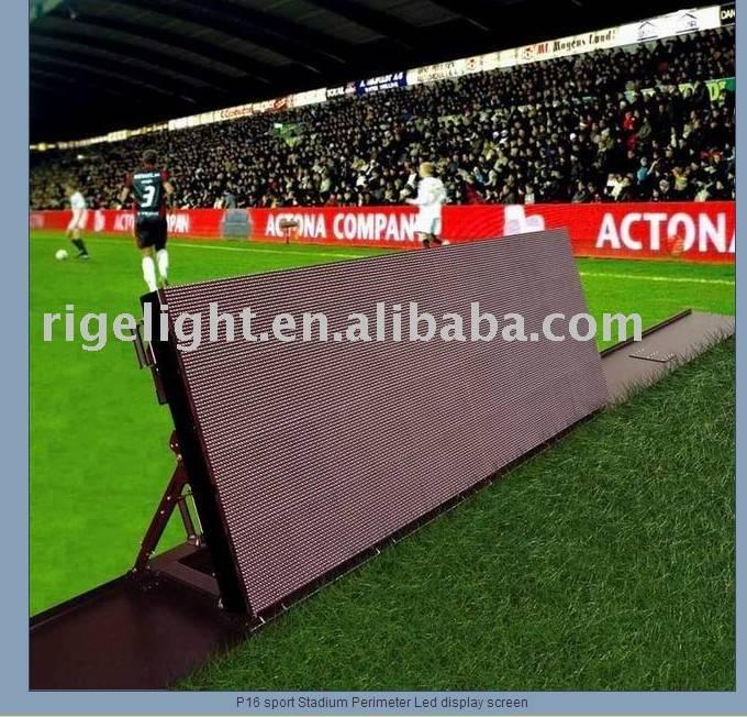 P16 sport Stadium Perimeter Led display screen