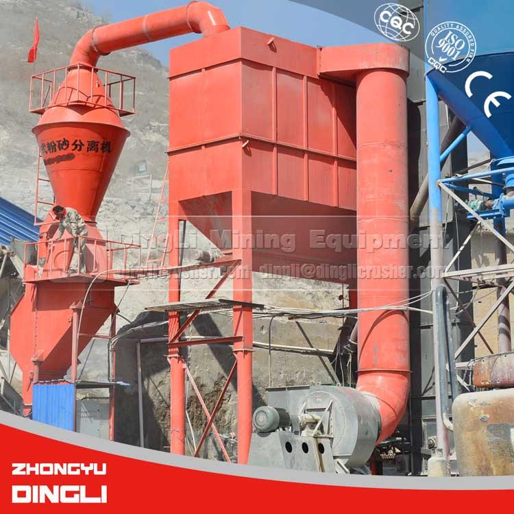 2017 New Type latest technology basalt dust filter manufacturer