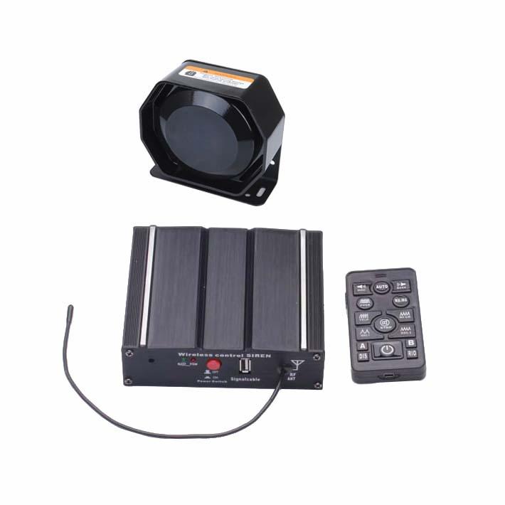 100W Federal Siren Kit ES7100D-SPK0021 3-Piece Pack 20 Tones 12V with Siren Box Speaker Wireless