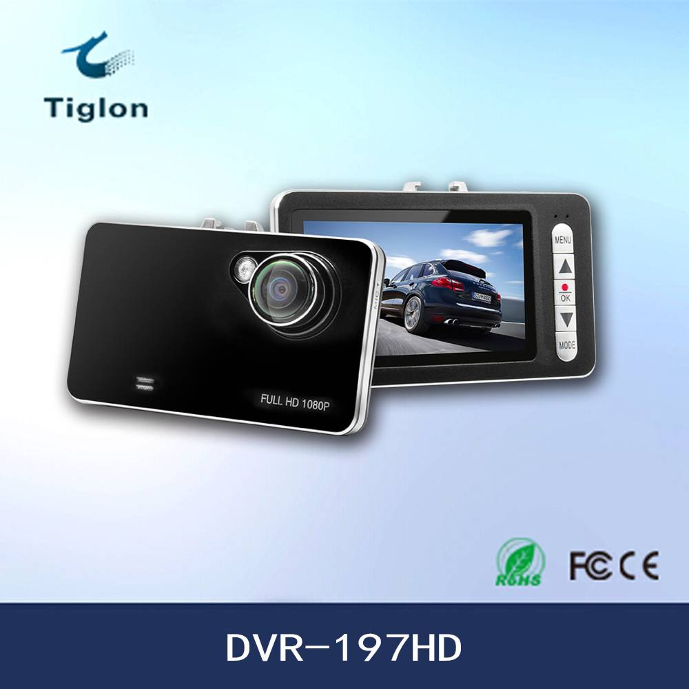 2015 720P Car DVR-197HD with G-sensor
