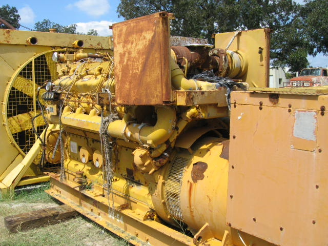#4329 Caterpillar D398B Industrial Generator Set