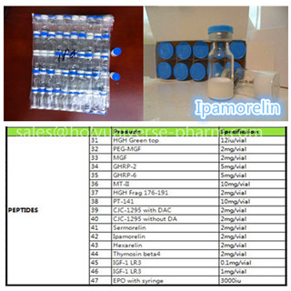 Lyophilized powder Ipamorelin 2 mg,Weight Loss peptide,Hign-qualty cas 170851-70-4