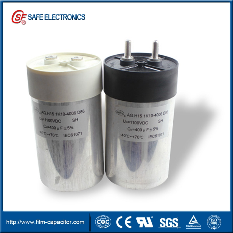 low ESR DC Link film capacitor of support filter circuit