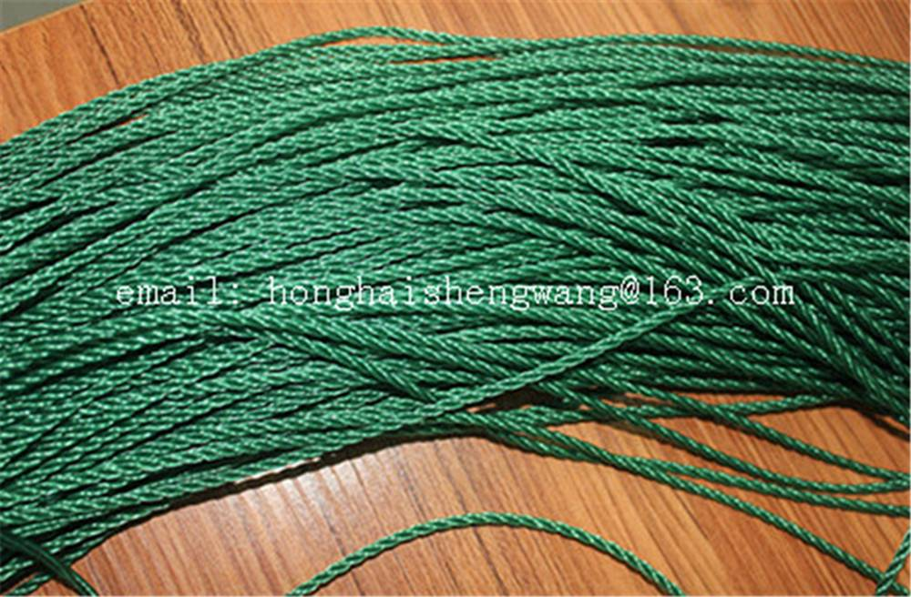mixed- twisted HDPE rope