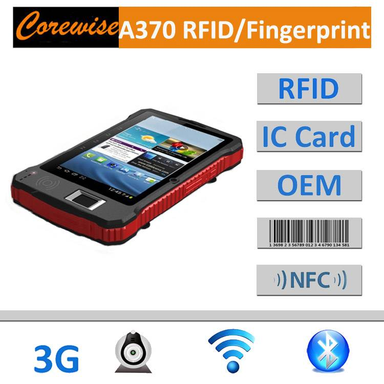 Handeld Tablet PC with RFID reader