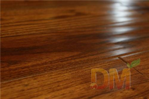 High quality solid teak handscraped wood flooring