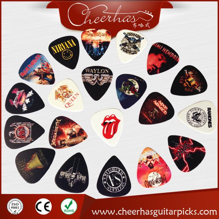 Band Logo Guitar Picks