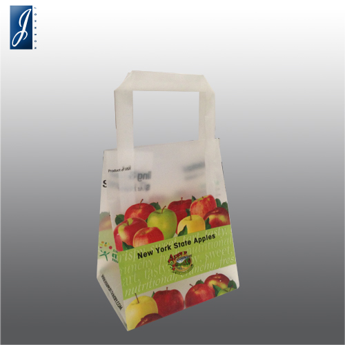 Customized small plastic shopping bag for APPLE