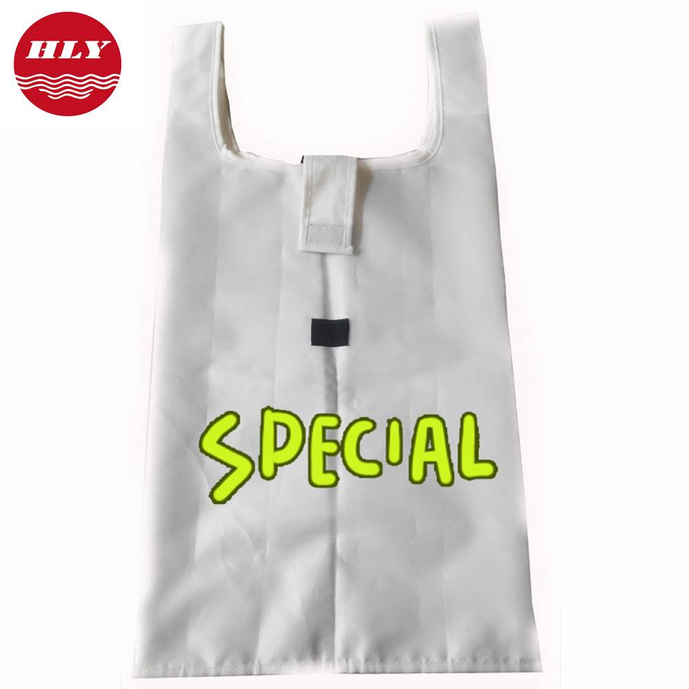 High Quality White Polyester Tote Bag