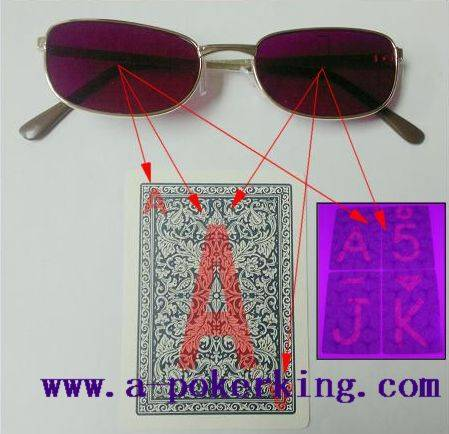 Perspective Glasses/marked cards/ cards marked/ cards mark/hidden camera/contact lens/Poker Software