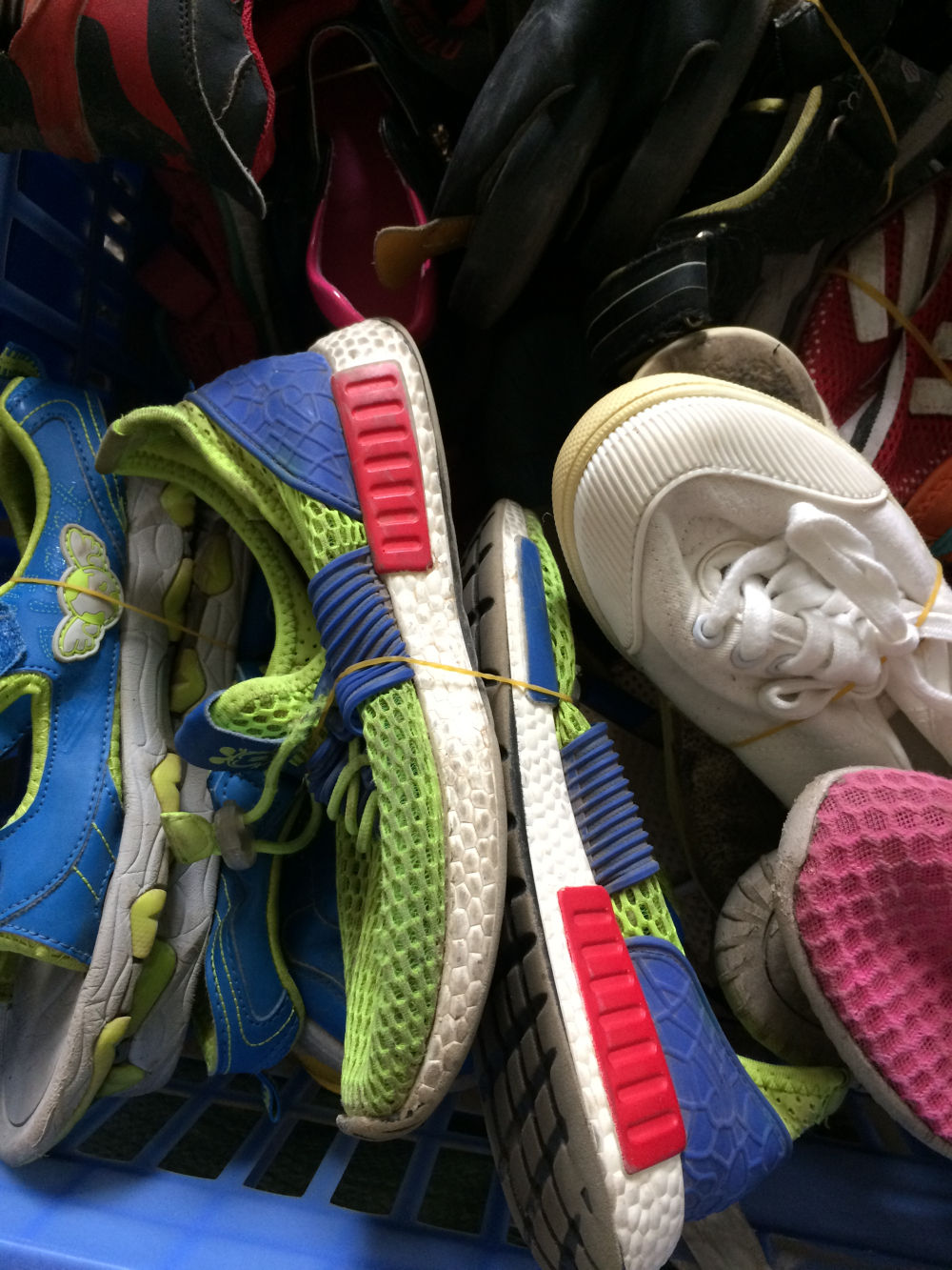 Used children shoes