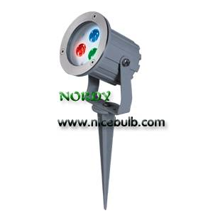 RGB 3in1 Spotlight Outdoor LED Landscape Garden Light (AL-3F)