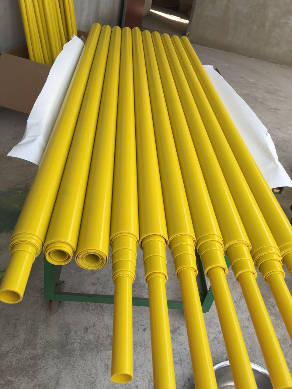 fiberglass telescopic pole