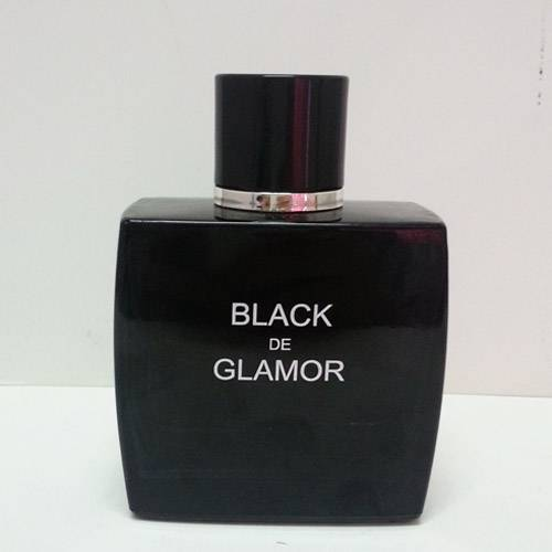 Black perfume bottle for men
