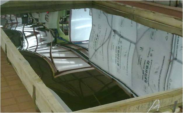 cold rolled stainless steel sheets 304 BA/2B/NO.4 surface finished