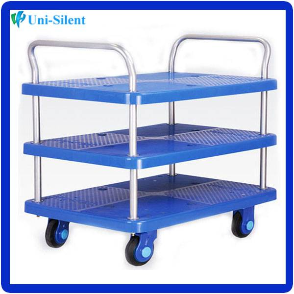 Foldable Four-wheel300kg Pallet cart handtrolley