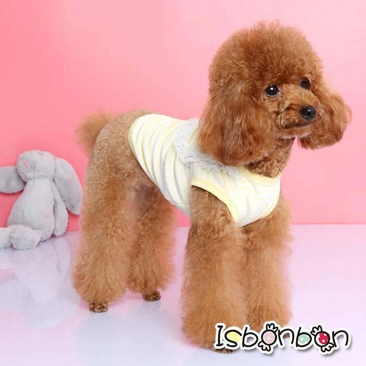 Isbonbon brand cute dog T-shirt