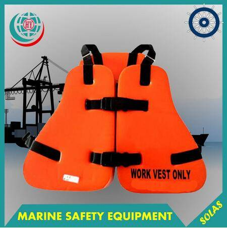 SOLAS approved PVC offshore work vest
