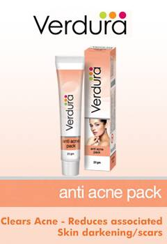 Verdura anti acne pack