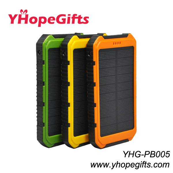 2015 latest style solar charger/solar power bank