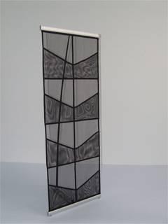 mesh   fabric   brochure  holder