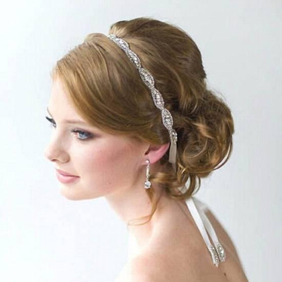 Crystal bride hairband Luxurious women hair tiara china wholesale women hair ornament