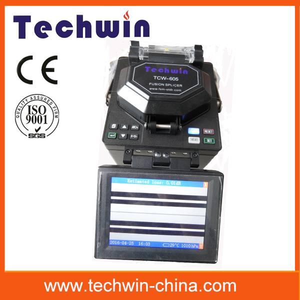 Techwin perfect fusion splice machine TCW-605 8s splicing