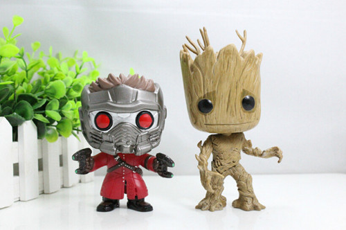 Customized action figure toys Groot