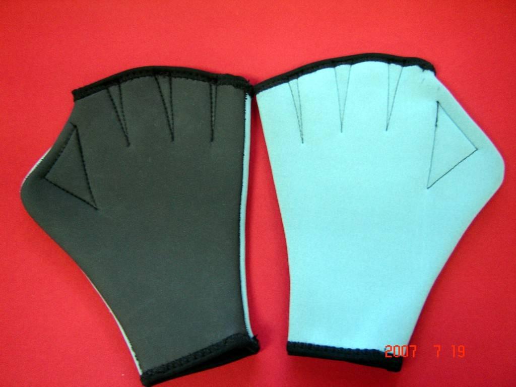 neoprene sports glove for swimming/ diving