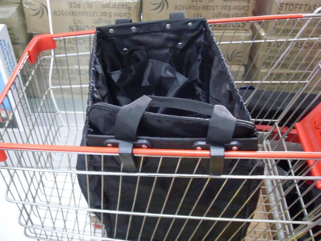 supermarker trolley shoppiing bag