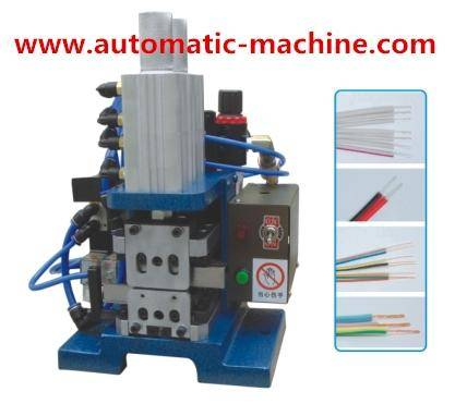 Pneumatic Cable Wire Twisting and Wire Stripping Machine TATL-RY-3FN