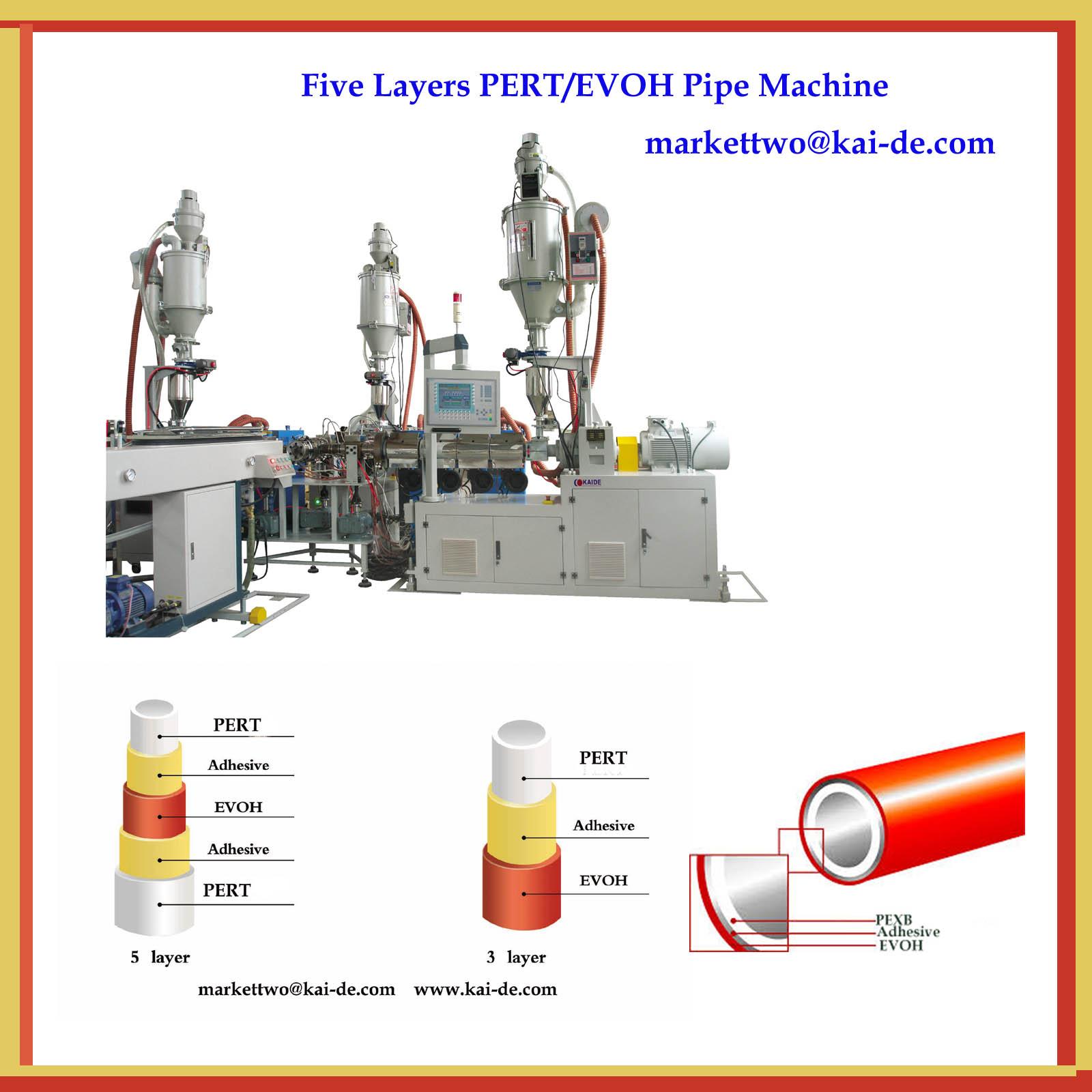 PEXB-EVOH Pipe Production Line(Whatsapp:886-13705369780)