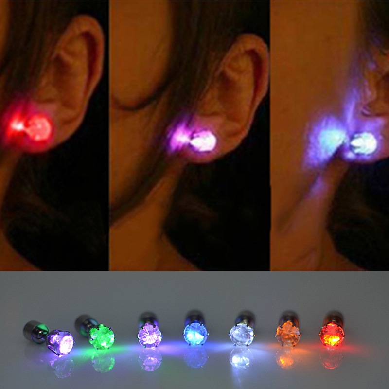 2017 new Popular colourful led earring for party event