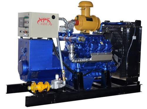 CE approved 120KW biogas generator set
