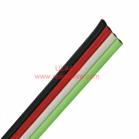 UL4478 XL-PE Insulated Flat Ribbon Electric Wire(300V)