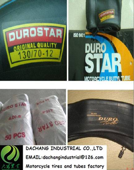 Duro Motorcycle tyre  tube 275-17 275-18 front tyre